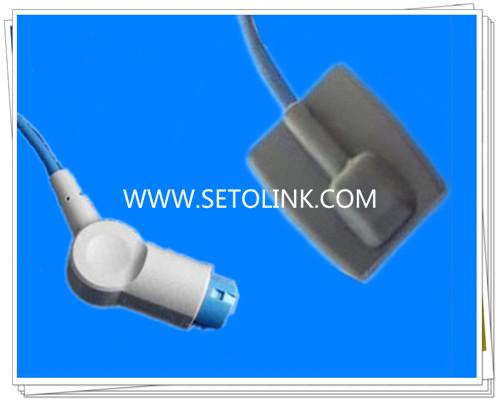 Mindray 12 Pin Pediatric Silicone Soft Tip SpO2 Sensor