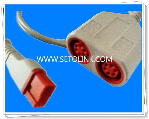 Spacelabs Dual IBP Converter Cable