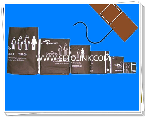 Reusable NIBP Blood Pressure Cuffs With Imitation Leather