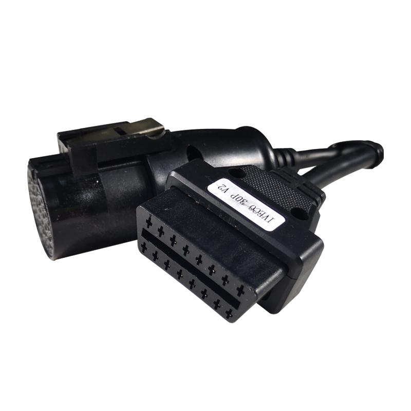 Auto Truck OBDI Cable for Iveco 30 Pin